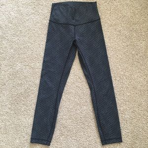 lululemon high times 7/8-length legging yoga tight